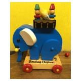 #109 vintage wooden toy (unused)$18