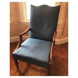#36. Blue chair $20
