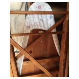 #85. Wooden ironing board $10