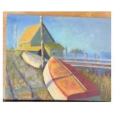 #89 Giclee by Yarmouth artist $25