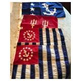 #97. 4 nautical flags $50