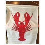 #119 lobster flag $15