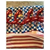#99. Lobster towels $10