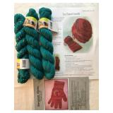 25. teal wool silk bamboo $20