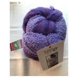 26.fleece artist purple wrap $28