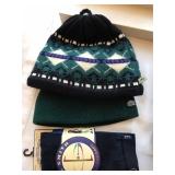 D: 2 hats, tights $12