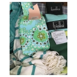 MM: scarf, lunch bag/purse, 3 socks all new $22