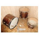 Vintage Ludwig Drum Set