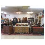 OUTSTANDING HIGH END FURNITURE AND ANTIQUE AUCTION FRIDAY DECEMBER 8TH AT 7PM