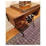 Oak Sewing Machine