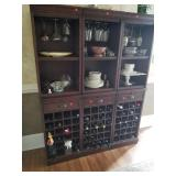 3 separate piece cabinets