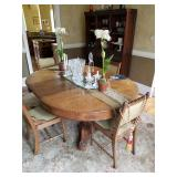 Table 6 chairs and buffet now reduced