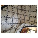 """Handmade quilt 90"""" x 66"""""""