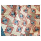 """Handmade quilt 110"""" x 120"""""""