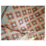 """Handmade quilt 90"""" x 104"""""""