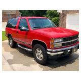 1993  Chevy Blazer  $11,500