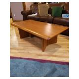 Teak Wood Coffee and matching end table