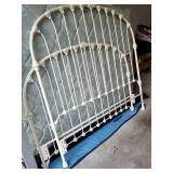 Queen Iron Bed(heavy)/$425