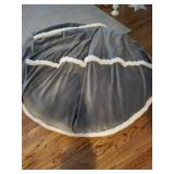Pair of bean bag chairs covers washable $125 each