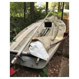 Today Capri sailboat and trailer just $475