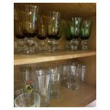 Bronze set and olive set