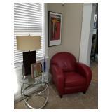 """Modani "" red Chair Final $300"