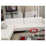 Great condition leather sectional NOW $1100