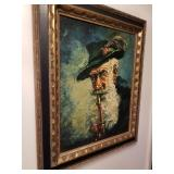 Canvas oil picture