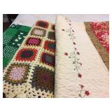 Quilts, Bed Spreads, Bedding