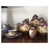 Japanese Hand Painted Tea Ware