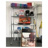 Bakers Racks, Kitchen Items, TV Trays