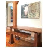 Paulus Hand Crafted Computer Desk with Inlay