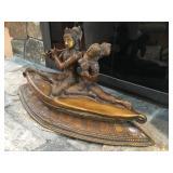 Large Indian Bronze Sculpture