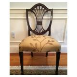 Set of Twelve Shieldback Chairs from Stickley