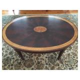 Detail on Stickley Coffee Table Banding