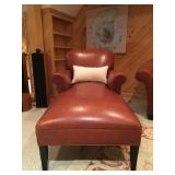 Stickley Chaise Lounge in Leather
