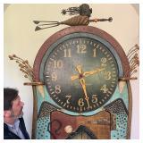 Richard Dunbrack, the Dr. Seuss of Marthas Vinyard, Grandfather Clock