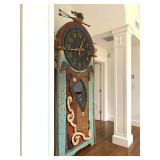Richard Dunbrack, Folk Art Clock