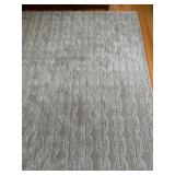 Nourison Wool Rug in Chain Mail