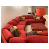 Crate and Barrel Sectional WITH Sleeper