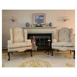 Ethan Allen Wingback Armchairs