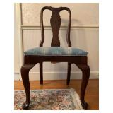 Ethan Allen Fiddle Back Side Chairs, Set of Six