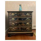 Chinoiserie Four Drawer Chest