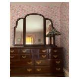Ethan Allen Trifold Mirror Dresser