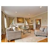 Hunt Estate Sales Welcomes You to this Holliston Home Decorated with Subtlety and Grace.