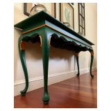 Green Sofa Table