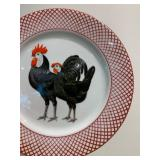 Rooster Dish Set