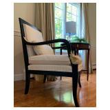 Ethan Allen Arm Chair with Phoenix Detail