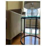 Glass Top Occasional Table