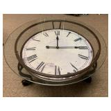 Cocktail Table with Clock
